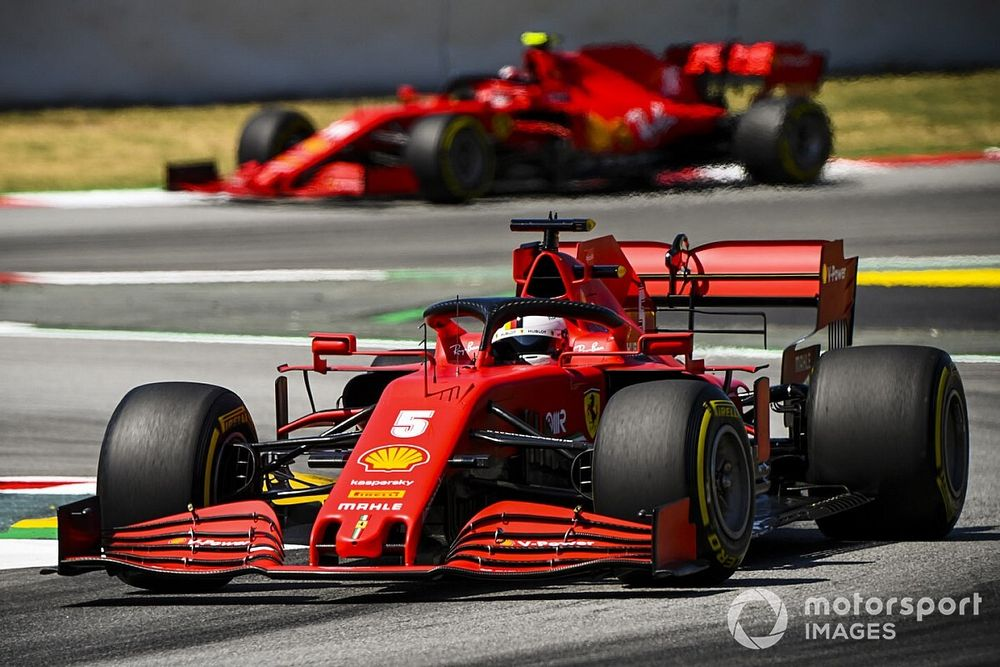 """Ferrari: """"Güçlü lastik yönetimi sürücüler sayesinde oldu"""""""
