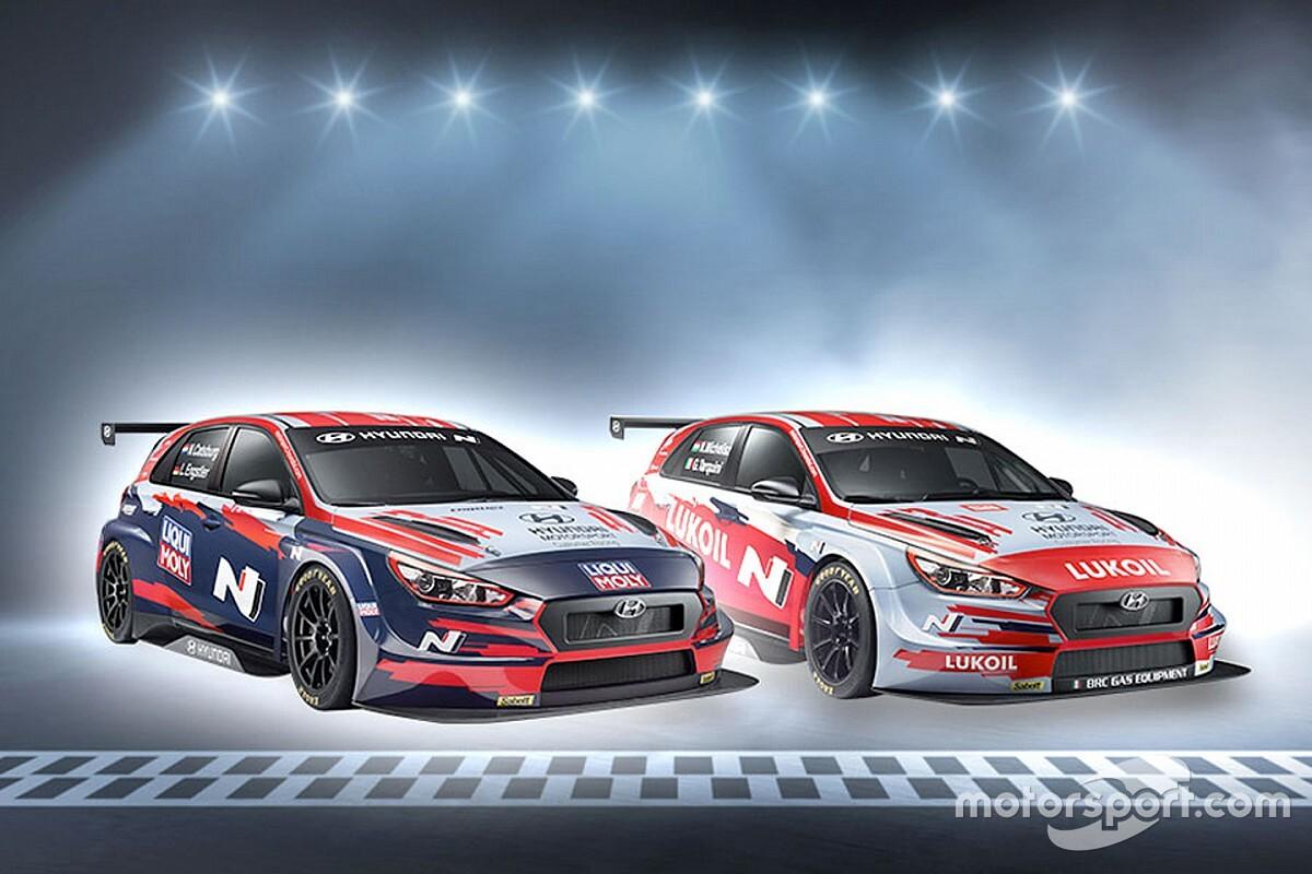 Hyundai svela la livrea di Tarquini e Michelisz per il WTCR 2020