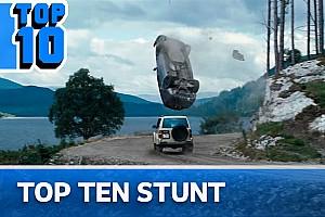Top 10, le auto dei film nei più spettacolari stunt