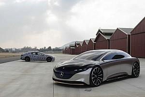 Mercedes EQS, spunta una versione AMG per lottare con Porsche e Tesla