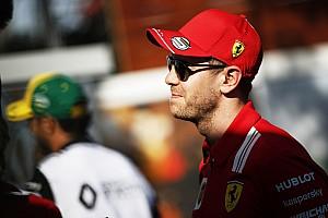 Vettel a annoncé son départ d'Australie à Grosjean dans la nuit