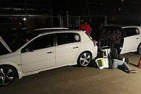 Ismét lecsaptak a rendőrök az illegális gyorsulási versenyen résztvevőkre