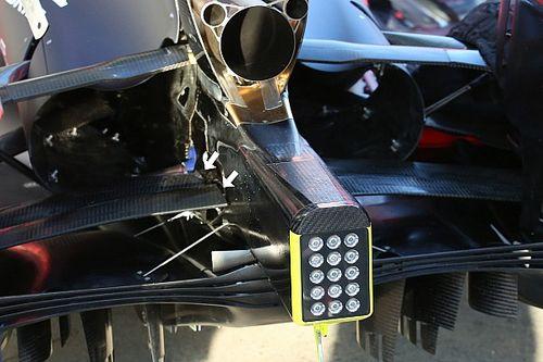 Red Bull: la sospensione posteriore fa da doppio diffusore