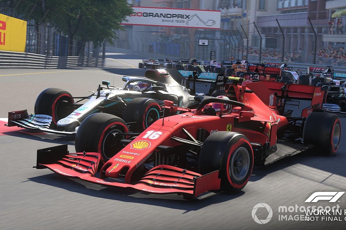 Leclerc pistola? Veja por que o game F1 2020 incomodou o piloto da Ferrari