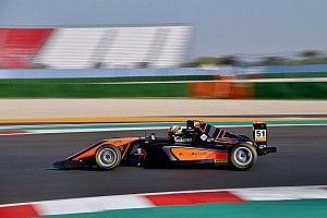 Formula 4: Francesco Pizzi un missile nelle Libere di Misano