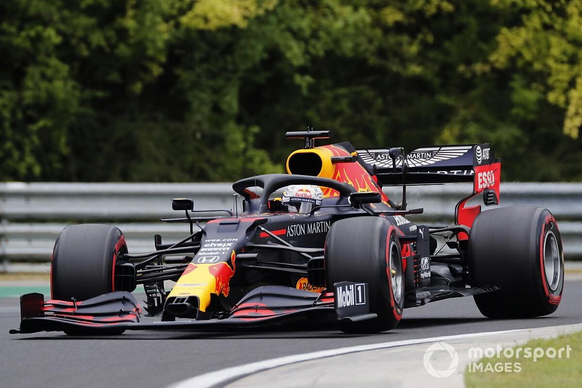 """Verstappen espère être à moins de 0""""5 de Mercedes"""