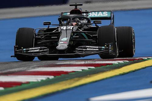 Hamilton topt eerste dag F1-seizoen 2020, Verstappen P8