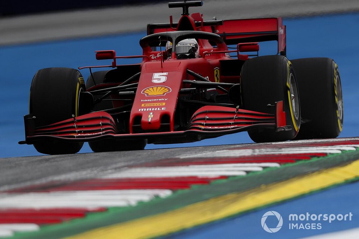 Chefe da Ferrari explica problema do carro para o GP da Áustria