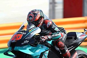 MotoGPスペインFP3:爆速! クアルタラロ、レコード更新の走り。中上Q1スタート