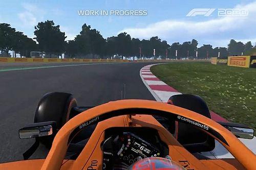 Vidéo - Un tour avec Sainz à Barcelone sur F1 2020