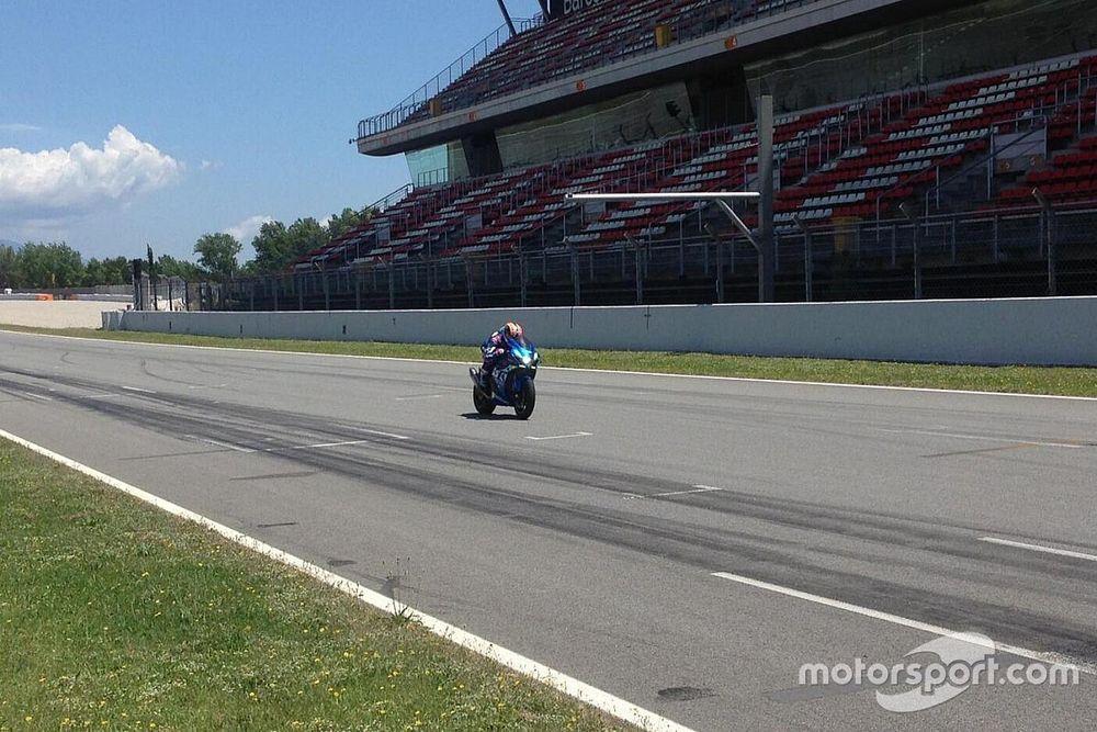 Galería: el Circuit de Barcelona se plaga de pilotos de MotoGP de test
