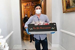 Leclerc, voluntario de la Cruz Roja contra el coronavirus