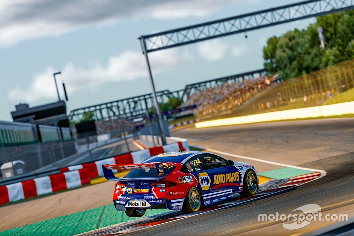 Supercars All Stars Eseries Round 4 schedule