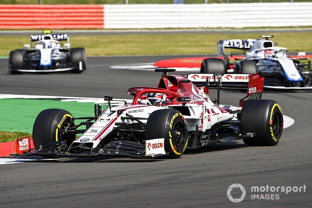 GP 70-lecia F1: Okrążenie po okrążeniu