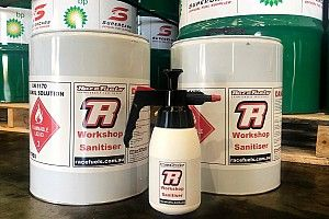 Hand sanitiser donated to Supercars teams