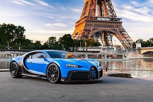 36 секунд сверхскорости: Bugatti Chiron Pur Sport засняли на гоночной трассе