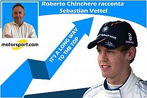 "Podcast, Chinchero: ""It's a long way to the top"" - Vettel"