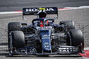 F1テスト初日午前:リカルド首位。ホンダ勢順調、アルファタウリ最多74周。メルセデスにまさかのトラブル