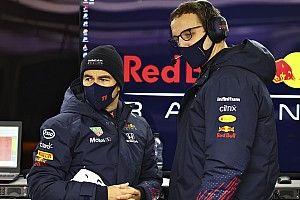 Las conclusiones de Sergio Pérez tras estrenar el nuevo Red Bull RB16B
