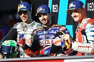 La grille de départ du Grand Prix du Portugal MotoGP