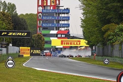 Emilia-Romagna GP, Bottas ve Russell'ın kazası nedeniyle durduruldu