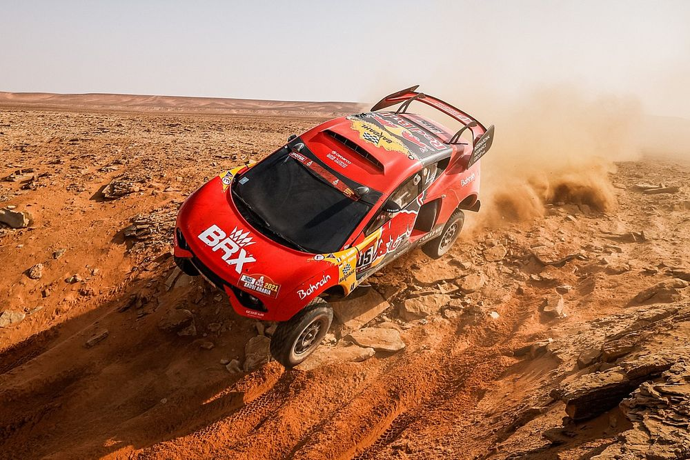 Loeb, 2021 Dakar Rallisi'ne veda etti