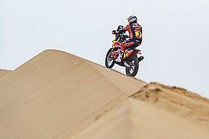 Toby Price abandona el Dakar con fractura de clavícula