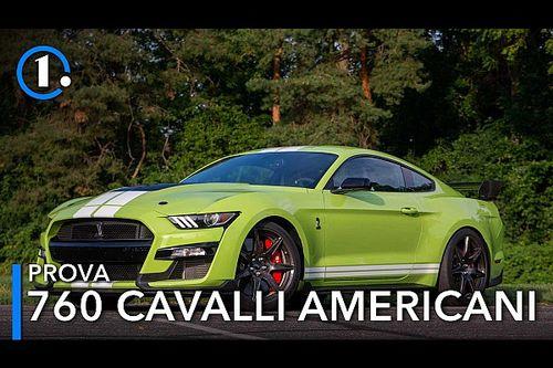 Ford Mustang Shelby GT500, la prova della sportiva americana