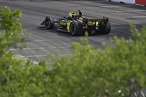 St. Pete IndyCar: Herta leads Sato in warm-up