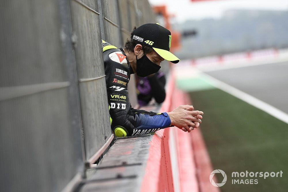 Rossi Terang-Terangan Tak Senang dengan Kinerjanya Musim Ini