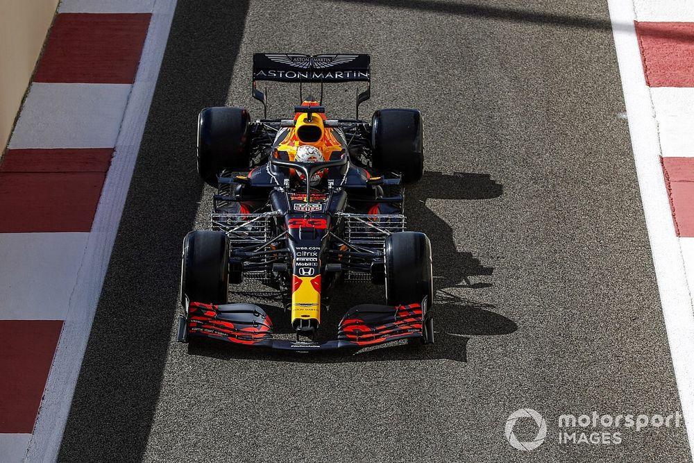 F1, Abu Dhabi, Libere 1: Verstappen si presenta, Lewis si nasconde