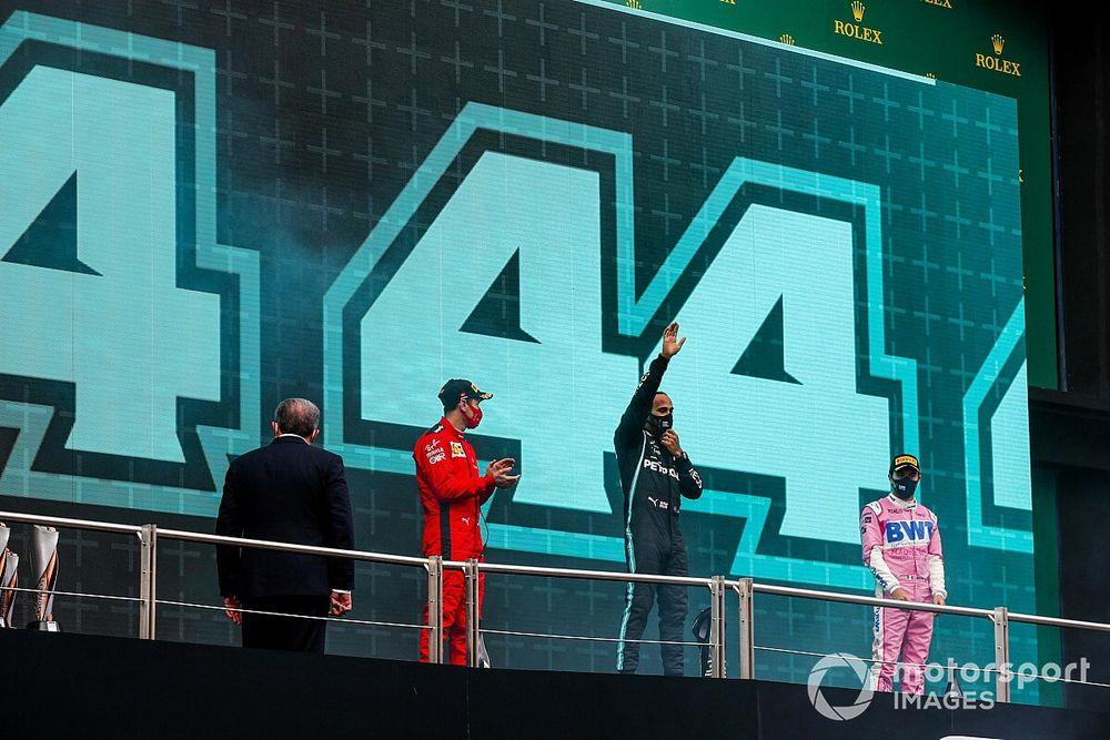 GALERÍA: el GP de Turquía y el 7º título de Hamilton