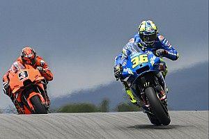 """Mir upset with Marc Marquez over """"dangerous"""" MotoGP qualifying tactic"""