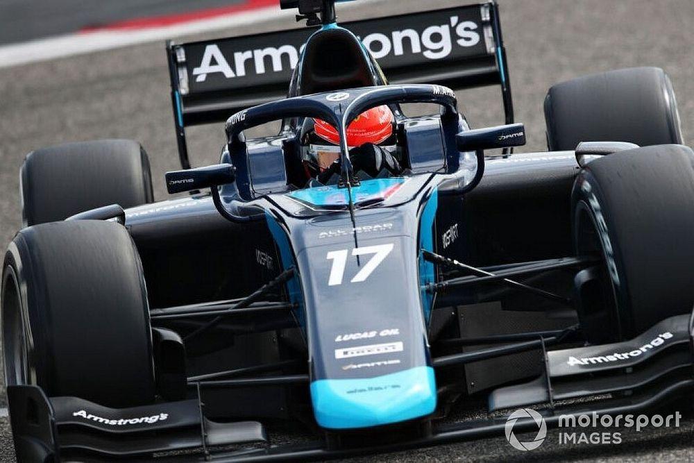 Armstrong snelste op laatste dag F2-test, Verschoor achtste