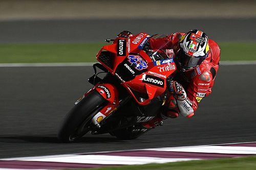 Qatar MotoGP: Miller leads FP2, Espargaro crashes again