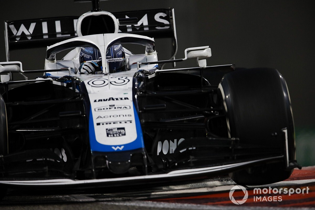 Russell: Williams return harder than stepping up to Mercedes
