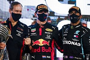 F1アブダビGP決勝:フェルスタッペン、完璧ポール・トゥ・ウィンで有終の美。今季2勝目を飾る