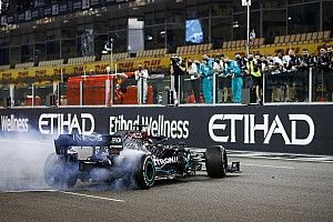 Las fotos del fin de fiesta de la Fórmula 1 2020 en Abu Dhabi