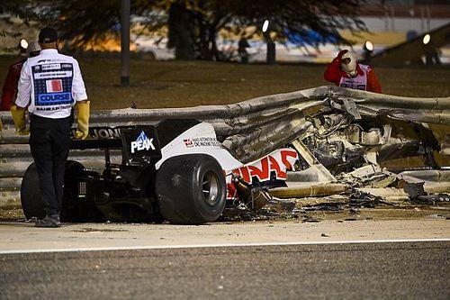 Grosjean herstelt volgens plan, waarschijnlijk dinsdag uit ziekenhuis