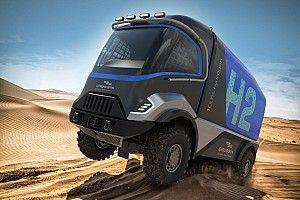 Wodorowa ciężarówka w Dakarze 2022