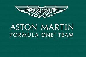 Aston Martin F1 Pamer Logo Baru