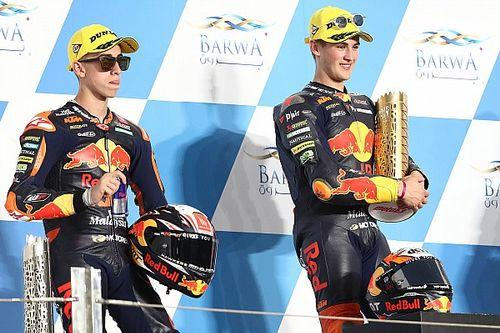 Duo Red Bull KTM Ajo Berambisi Ulang Sukses di Moto3 Doha