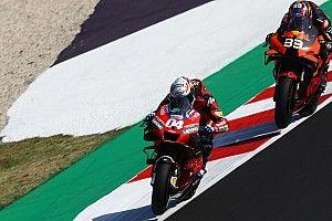 Andrea Dovizioso mécontent de son pilotage