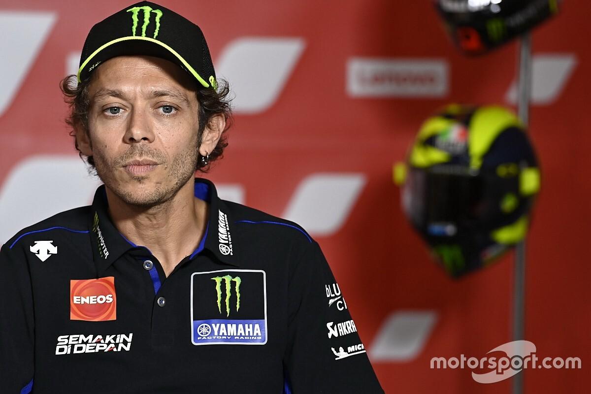 Valentino Rossi toujours positif au COVID-19