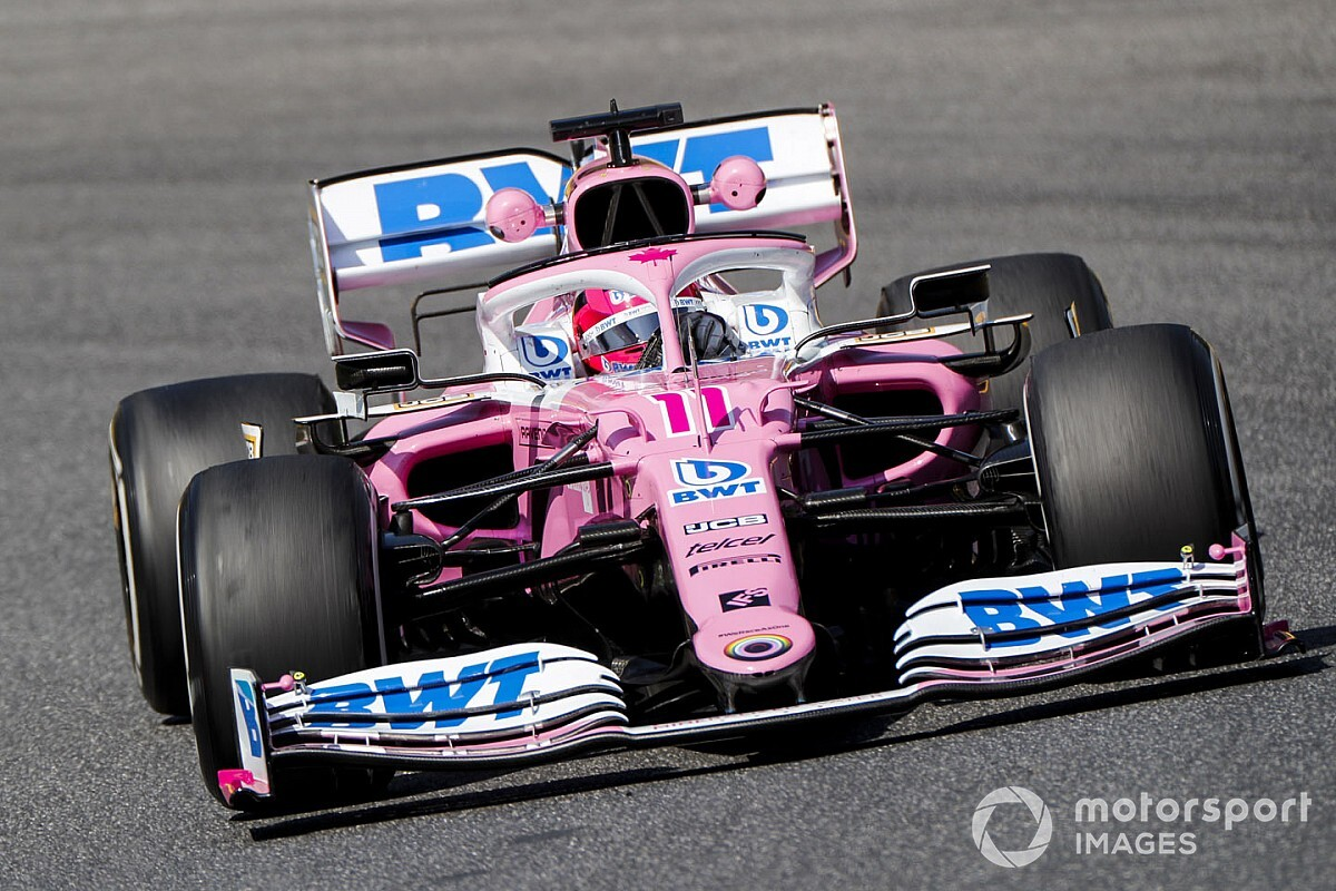 Perez handed one-place grid penalty for Raikkonen crash