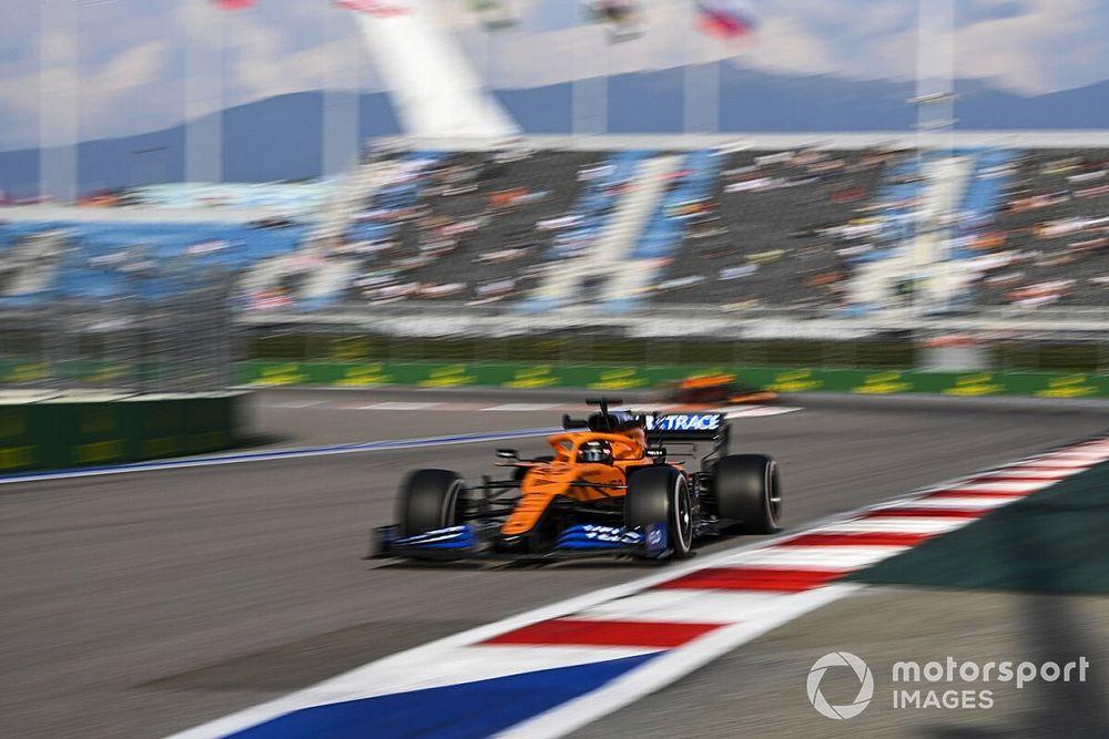 Sainz, 'primero del resto' en la FP3 del GP de Rusia