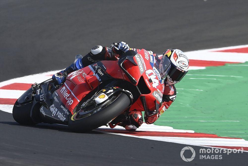 "Dovizioso ""still not able"" to adapt braking style"