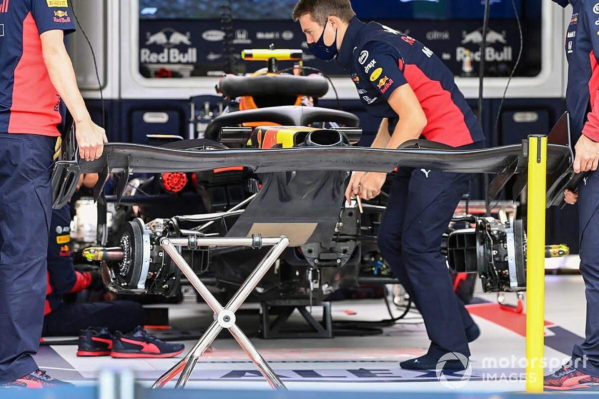 Les secrets bien cachés de l'aileron avant Red Bull