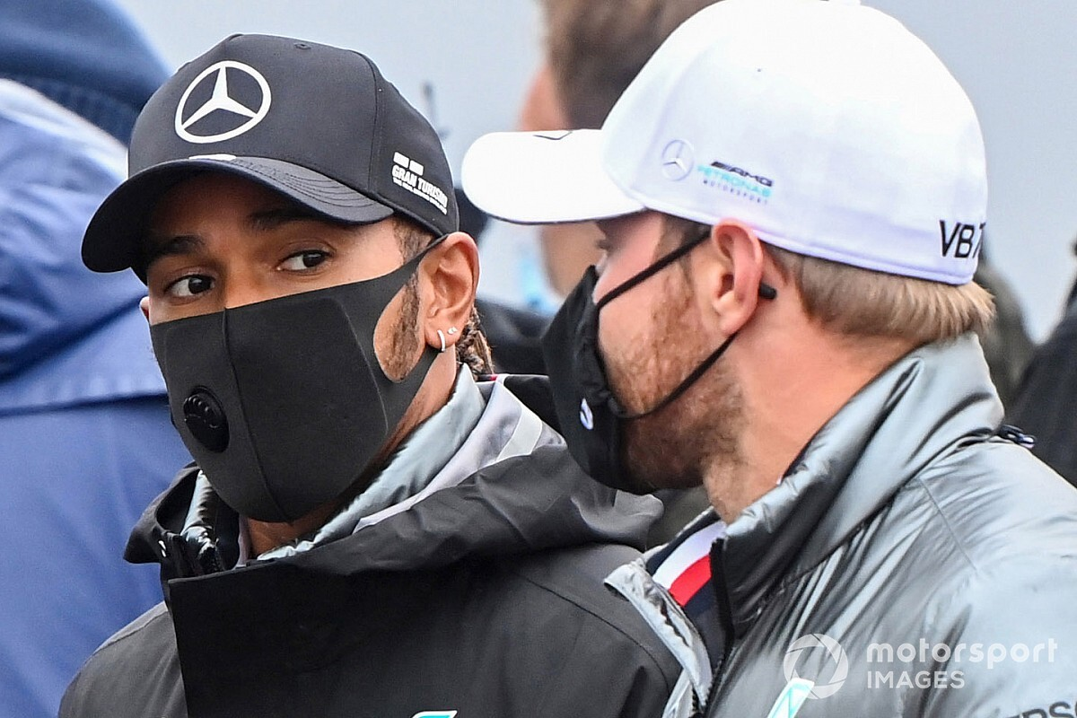 Mercedes will need adjustments after F1 COVID positive - Hamilton
