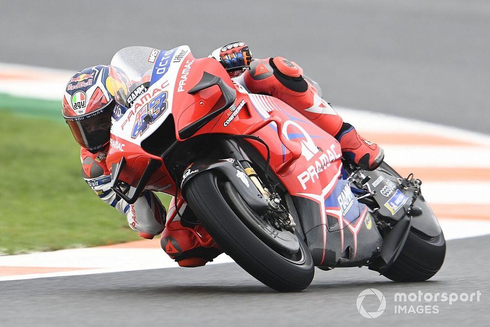 European MotoGP: Miller tops wet FP1, Quartararo slowest